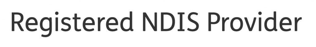 Registered NDIS Provider Tagline